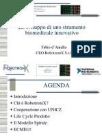 Lo sviluppo di uno strumento biomedicale innovativo, 2a parte