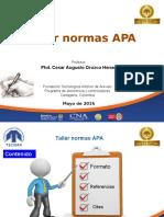 Capacitación Normas APA