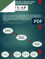 Sustentacion de Tesis (Implementacion de Biodigestor) Cueto