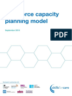 Workforce Capacity Planning Model September 2014