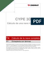 0184 T4 P7 Entreplanta Con Laminas Metal 3D