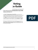 Guía completa de asistencia para votar en las elecciones de EEUU