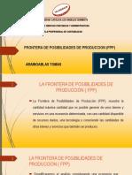 Fronteras de Posibiñidades de Producion