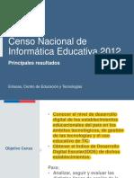 censo informatica educativa enlaces 2013