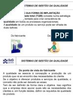 TQM Fornecedores
