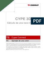 0184 T7 P2 Ejemplo de Una Union Metal 3D