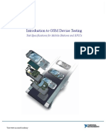Introduction to GSM Device Testing