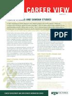 Pacific and Samoan