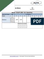 Tabela Torque cabeçote TU5JP4