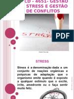Formação - Gestão de Stress e Gestão de Conflitos
