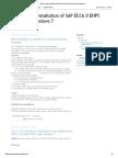 Step by Step Installation of SAP ECC6