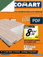 Bricomart Folleto a Coruna Santiago de Compostela 24-10-2016