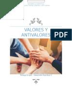 16-10-25 Valores y Antivalores