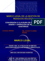 Clase 0 Marco Legal de La Gestion de Residuos Solidos