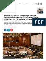 Articulo Malala