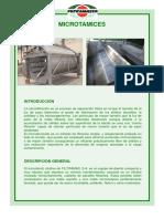FILTRAMASSA - Microtamices
