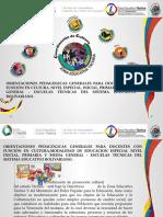 Orientaciones Cultura 2016-2017