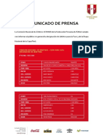 Octavos de final - ida (Copa Perú)