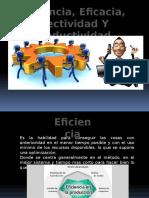 Eficiencia Eficacia Efectividad y Productividad - DIAPOSITIVAS - Copia