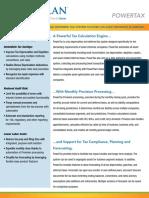 Powerplan Powerttax Income Tax Overview