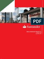 Santander Q1 earnings presentation