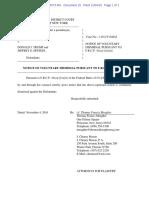 File Stamped Dismissal of Jane Doe SDNY Complaint 11-4-16 Filed_5vIx