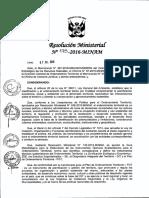 RM-N°-173-2016-MINAM. Procedimiento para el POT