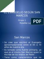 ÉL EVANGELIO SEGÚN SAN MARCOS.pptx