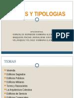 Edificios y Tipologias