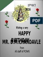 Birthday Spl