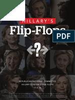 Hillary's Flip Flops