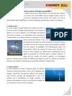 Sources d Energie Renouvelable