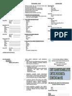 Leaflet Diet Diabetes Mellitus