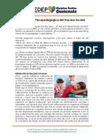 Orientación Psicopedagógica Del Fracaso Escolar CEDEP