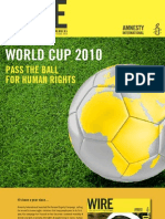 WORDCUP 2010 Pass The Ball For Human Rights