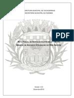 Cachoeirinha - Manual Web Service 1.0.5