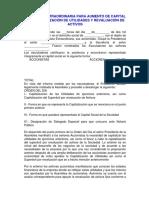 ASAMBLEA EXTRAORDINARIA PARA AUMENTO DE CAPITAL POR CAPITALIZACIÓN DE UTILIDADES Y REVALUACIÓN DE ACTIVOS.pdf