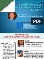 0. Inscripción en El RNBD