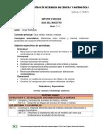 Guía Del Maestro Mitosis y Meiosis