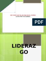 Liderazgo 1ra Clase
