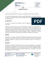 Impuestos Bolivia Esp