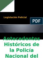 Legislación Policial