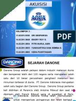 PT. Aqua Golden Mississippi bergabung akuisisi dengan DANONE