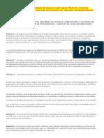 Ley 4199 2010 Que Establece El Seguro Social Para Músicos, Autores, Compositores y Cultores Del Arte en General Sin Relación de Dependencia
