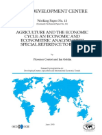 Contré, Florence. &  Goldin, Ian (1990). Agriculture and the economic cycle an economic and econometric analysis with special reference to Brazil
