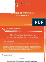 Metodologias de Informacion y Tecnologia Aplicados Al Sistema Last Planner - Ing. Daniel Ballena Rojas