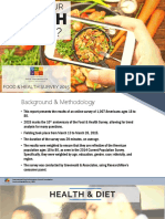 2015 Food and Health Survey - FINAL