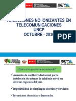 Radiaciones No Ionizantes - Mtc - Junin - Foro Regional Huancayo