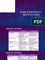 Plan Estategico Institucional