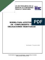 Norma Para Auditoria de Cumplimiento de Obligaciones Tributa -NACOT